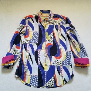 Nwt Robert Graham button up shirt Imperial Valley